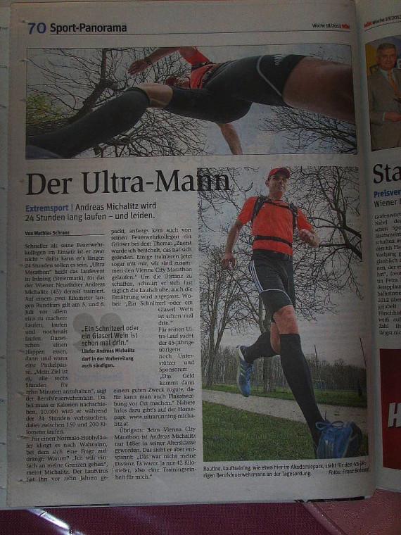 Bericht NÖN 29.04.2013 - Ultra-Mann